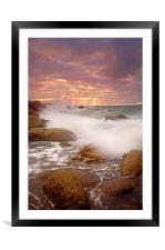 Dawn Tide Rising , Framed Mounted Print