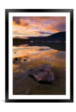 Fire and Ice , Framed Mounted Print