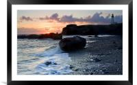 Time for a Light, Framed Mounted Print