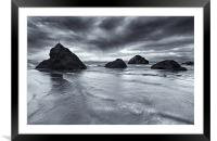 Clearing Storm, Framed Mounted Print