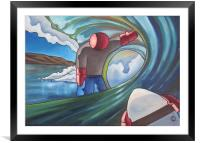 End of the tunnel, Framed Mounted Print