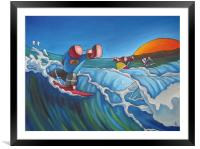 Shared Moments, Framed Mounted Print