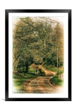 On The Road Again 2, Framed Mounted Print