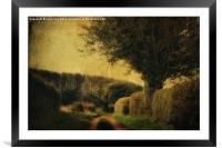 Private Lane, Framed Mounted Print