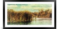 River Ant 97, Framed Mounted Print