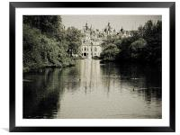Withe Hall, Framed Mounted Print