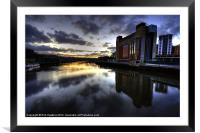 Baltic Flour Mill, Framed Mounted Print