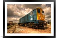 The class 20, Framed Mounted Print