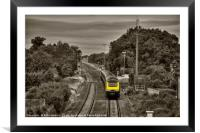 HST Causeway toned , Framed Mounted Print