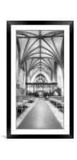 Crowland Abbey, Framed Mounted Print