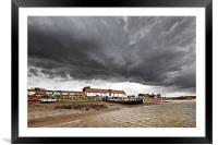 Angry Skies, Framed Mounted Print