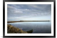 Wexford Harbour, Ireland, Framed Mounted Print