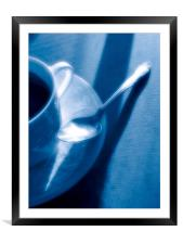 Coffee time, Framed Mounted Print