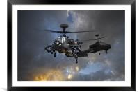 Apache Storm 3, Framed Mounted Print