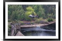 Dambusters 70th Anniversary Flypast, Framed Mounted Print