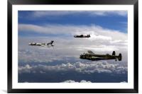 Avro Sisters 3, Framed Mounted Print