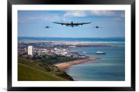 BBMF and Eastbourne air show, Framed Mounted Print