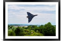 Vulcan Bomber EPIC take off RIAT 2015, Framed Mounted Print