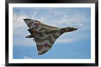 XH558 at Duxford, Framed Mounted Print