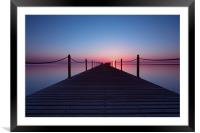 Into the Red Sea, Framed Mounted Print