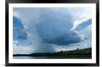 Storm Coming, Framed Mounted Print