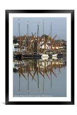 True reflection, Framed Mounted Print