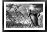 In the Wind, Framed Mounted Print