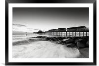 Pier, Framed Mounted Print