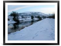 Lancaster Canal 7, Framed Mounted Print