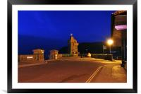 The Rhenish Tower at Lynmouth , Framed Mounted Print