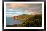 Foreland Point, Framed Mounted Print