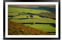 Exmoor, Framed Mounted Print