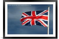 The Union Flag, Framed Mounted Print