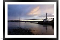 North Queensferry view, Framed Mounted Print
