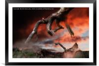 A Helping Hand, Framed Mounted Print