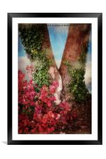 The Last Days Of Autumn, Framed Mounted Print