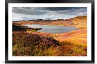 Loch Dhughaill - Isle of Sky, Framed Mounted Print