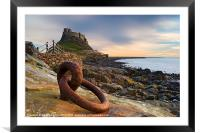 Lindisfarne Castle - Holy Island, Framed Mounted Print