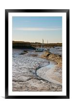 Up The Creek...colour, Framed Mounted Print