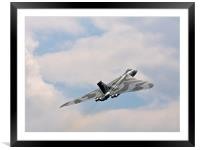 Avro Vulcan, Framed Mounted Print