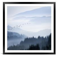 Rising above..., Framed Mounted Print