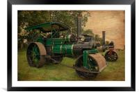 Old Timers, Framed Mounted Print
