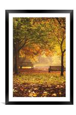 A Place for Reflection, Framed Mounted Print