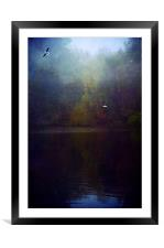 The Silent Pool, Framed Mounted Print