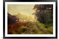 Watch where you tread, Framed Mounted Print
