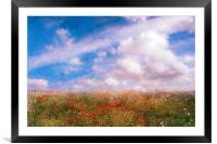 Summers Dream, Framed Mounted Print