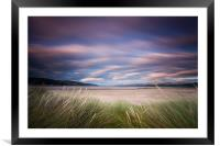 Dyfi Estuary Sunset, Framed Mounted Print