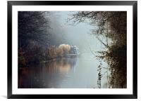 Kennet and Avon Canal, Framed Mounted Print