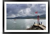 Barmouth north Wales, Framed Mounted Print