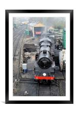 Swanage railway, Framed Mounted Print